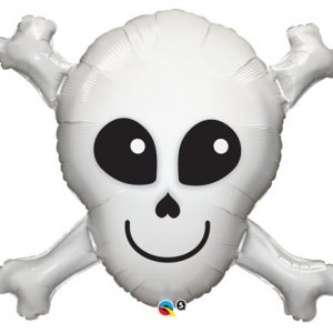 "32"" / 81cm Happy Skull Qualatex #17623"