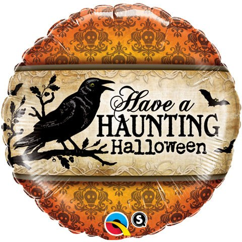 "18"" / 45cm Have A Haunting Halloween Qualatex #18412"