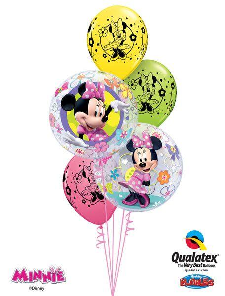 Bukiet 59# – 22″ / 56cm Disney Minni Mouse Bow-Tique Qualatex #41065_2, 18685_3