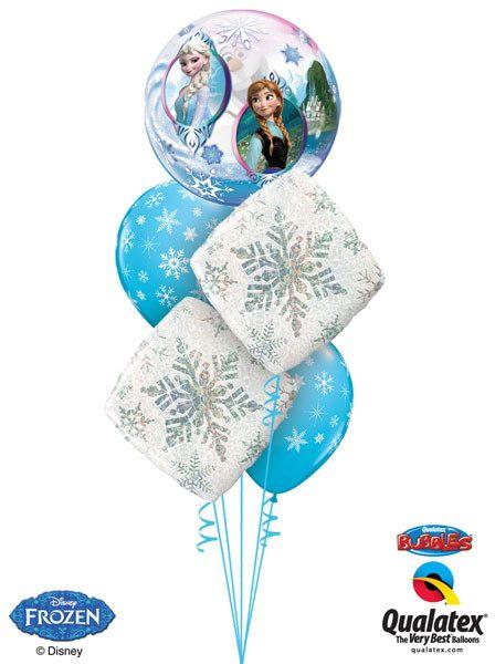 "Bukiet 63# - 22"" / 56cm Disney Frozen Qualatex #32688_1, 40091_2, 33531_2"
