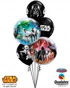 "Bukiet 66# - 22"" / 56cm Star Wars Qualatex #10474_2, 19363_3"