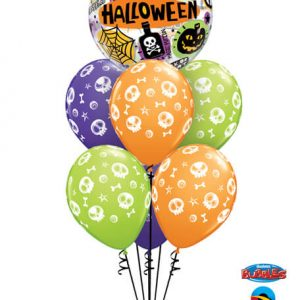 "Bukiet 355# - 22"" / 56cm Halloween Messages & Icons Qualatex #43433, 46510_6"