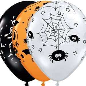 "11"" / 28cm Spooky Assortment Qualatex"