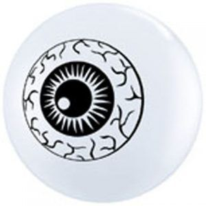 "5"" / 13cm 100ct / 100szt Eyeball TopPrint Qualatex #84895"