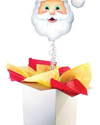 """32"""" / 81cm poczta balonowa Świąteczna Premium z Balonem Foliowym #Foliowy Świąteczny Premium"""