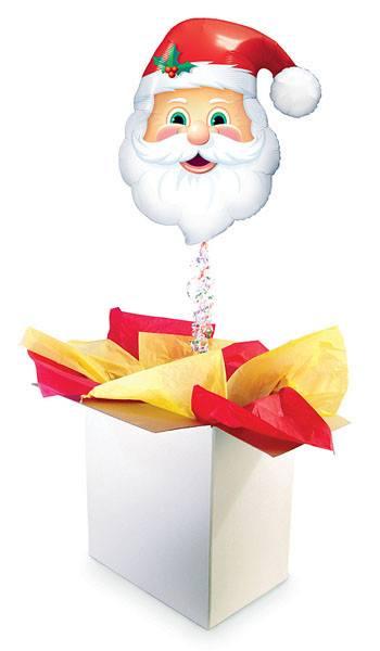"""32"""" / 81cm Poczta Balonowa Świąteczna Premium z Balonem Foliowym #Świąteczna Foliowy Premium z Balonem Foliowym"""