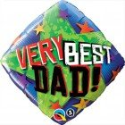 "18"" / 46cm Very Best Dad Stars Qualatex #40549"