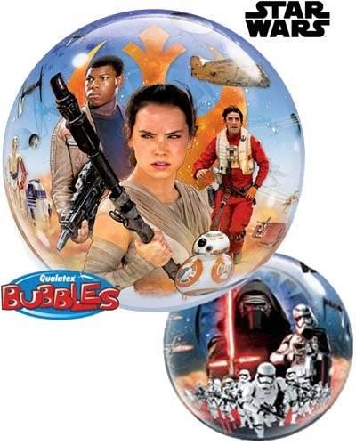"22"" / 56cm Star Wars The Force Awakens Qualatex #21317"
