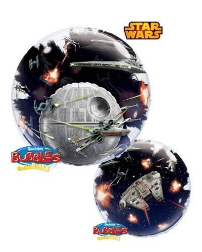 "24"" / 61cm Star Wars Death Star Qualatex #21320"