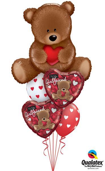 Bukiet 139# – 35″ / 89cm Teddy Bear Love #16453, 41324_2, 18080_2