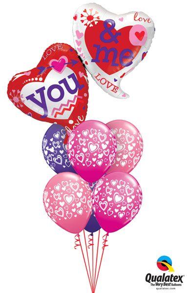 Bukiet 140# – 42″ / 107cm You & Me Two Hearts #21844, 40863_6