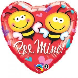 "18"" / 46cm Bee Mine! Qualatex #21837"