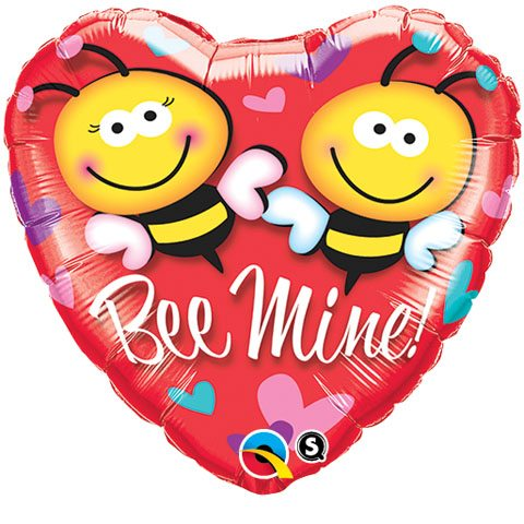 "18"" / 46cm Bee Mine! Qualatex #21837"