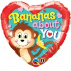 "18"" / 46cm Bananas About You Qualatex #21841"