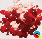 12g Red Hearts Confetti