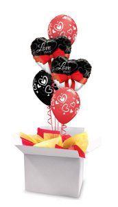 18″ / 46cm poczta balonowa Bukiet Premium #Bukiet Premium