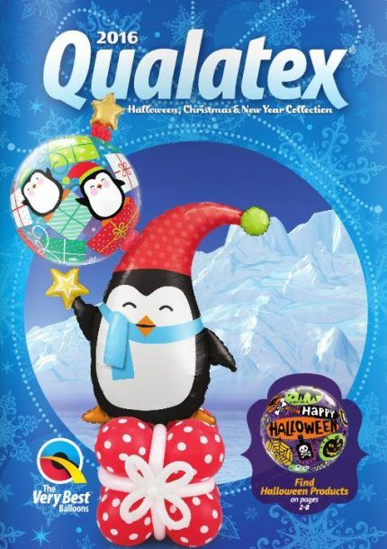Qualatex Halloween, Christmas and New Year Collection 2016