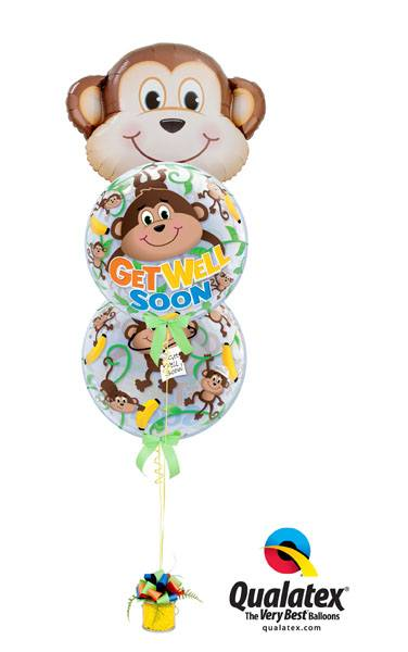 Bukiet 234# - 35″ / 89cm Mischievous Monkey Qualatex #16097, 66090_2