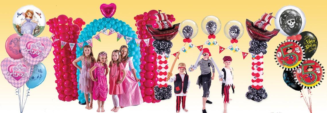 Tematyczne Imprezy Urodzinowe dla Dzieci