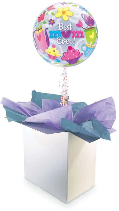 22″ / 56cm Poczta Balonowa Na Dzień Matki Premium z Balonem Bubbles #Bubbles Premium Dzien Matki