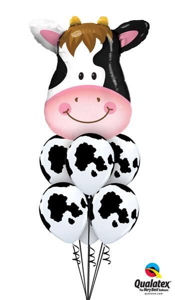 Bukiet 273# - 32″ / 81cm Contented Cow Qualatex #16455, 50077_6