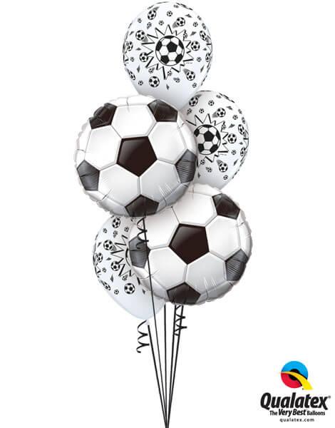 Bukiet 272# - 18″ / 45cm Soccer Ball Qualatex #71597, 18062_3