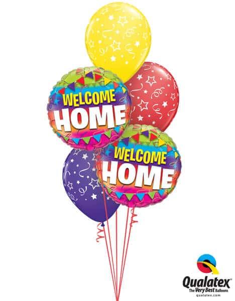 Bukiet 315# - 18″ / 46cm Welcome Home Qualatex #45245_2, 46110_3