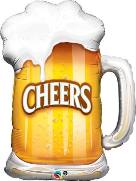 "35"" / 89cm Cheers! Beer Mug Qualatex #23488"