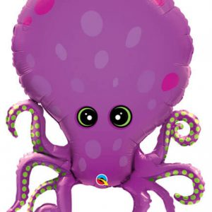 "35"" / 89cm Amazing Octopus Qualatex #25164"