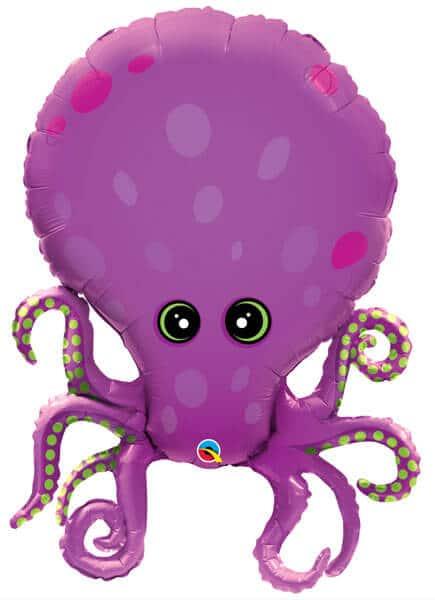 """35"""" / 89cm Amazing Octopus Qualatex #25164"""