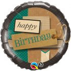 "18"" / 46cm Birthday Paper Patterns Qualatex #25620"