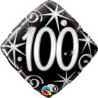 "18"" / 45cm 100 Elegant Sparkles & Swirls Qualatex #44438"