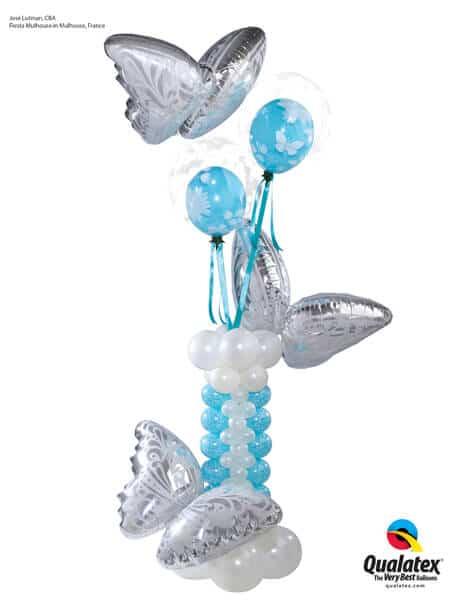 Butterfly-Pedestal