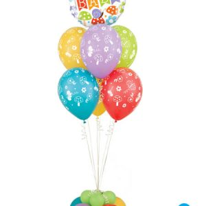 Bukiet 311# - 18″ / 45cm Welcome Baby Banner Garden Qualatex #25210, 44791_6, 17747_4