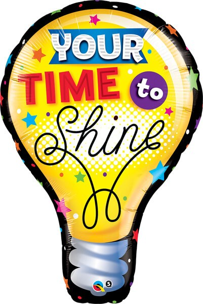 40″ / 101cm Your Time To Shine Qualatex #23922