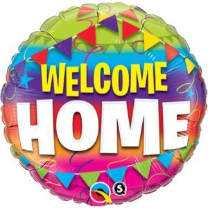 "18"" / 46cm Welcome Home Pennents Qualatex #45245"