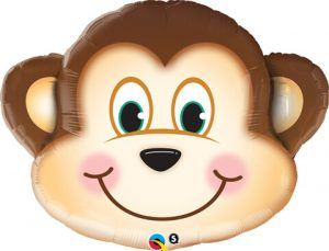 "35"" / 89cm Mischievous Monkey Qualatex #16097"