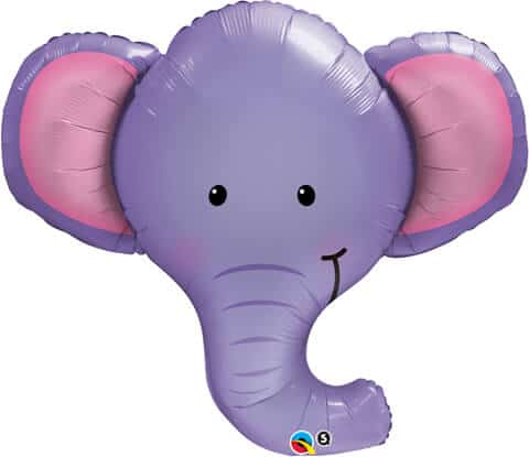 "39"" / 99cm Ellie The Elephant Qualatex #16136"