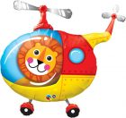 "35"" / 89cm Lion Helicopter Pilot Qualatex #25266"