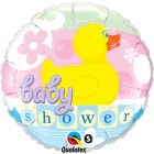 "18"" / 46cm Baby Shower Rubber Duckie Qualatex #11790"
