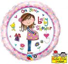 "18"" / 46cm Rachel Ellen - On Your Baby Shower Qualatex #14970"