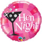 "18"" / 46cm Hen Night Pink Qualatex #15828"