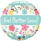 "18"" / 46cm Feel Better Soon! Floral Qualatex #16983"