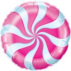 "18"" / 46cm Candy Swirl Magenta Qualatex #17355"