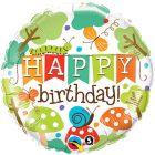 "18"" / 46cm Birthday Banner Garden Qualatex #25181"