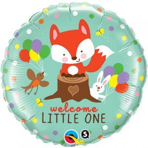 "18"" / 46cm Welcome Little Fox & Friends Qualatex #25189"