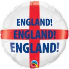 "18"" / 46cm England Qualatex #25979"