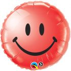 "18"" / 46cm Smile Face Red Qualatex #29636"