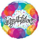 "18"" / 46cm Congratulations Balloons Qualatex #33360"