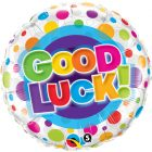 "18"" / 46cm Good Luck Colourful Dots Qualatex #36387"